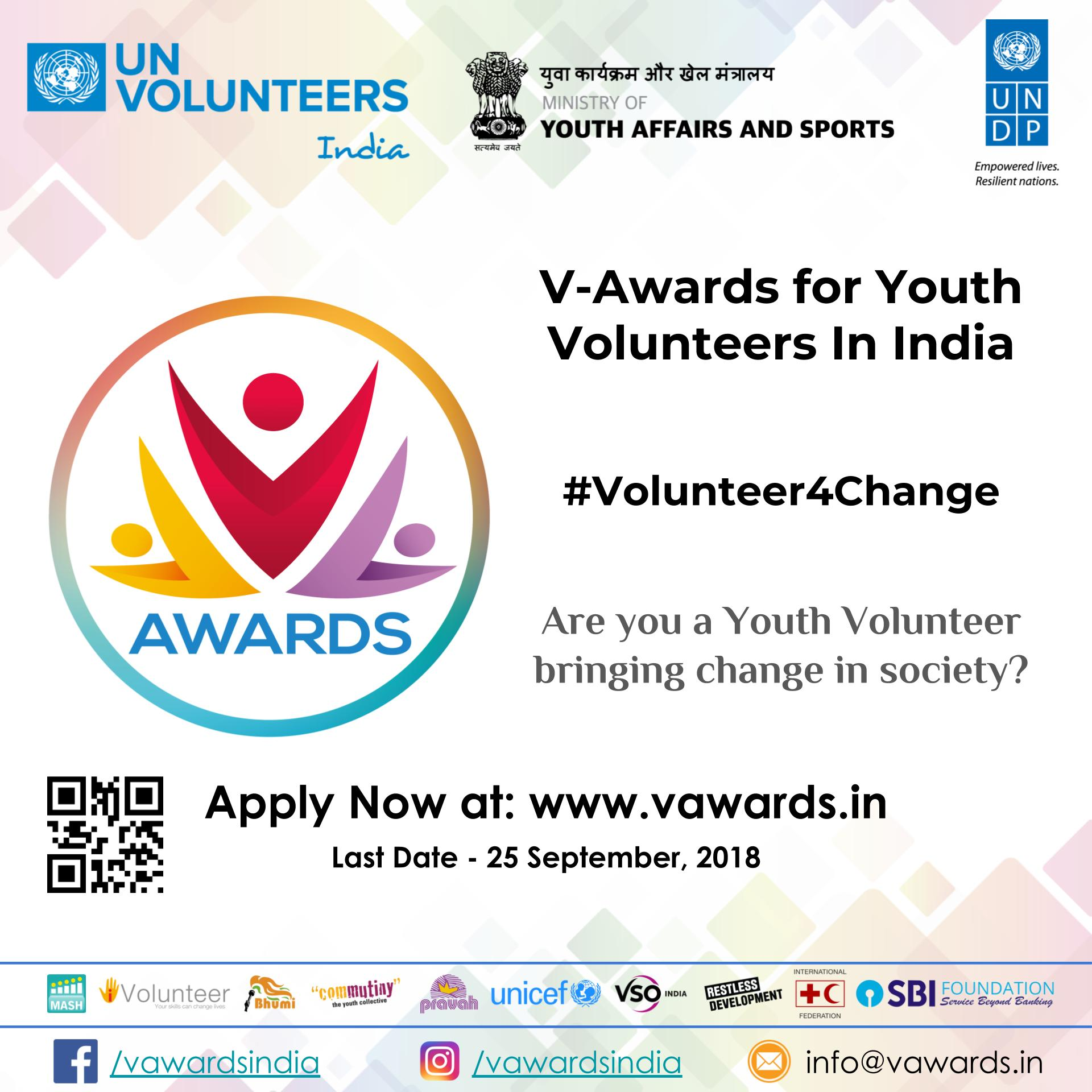 V-Awards in India for Youth