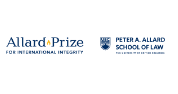 Applications invited for Allard Prize for International Integrity,