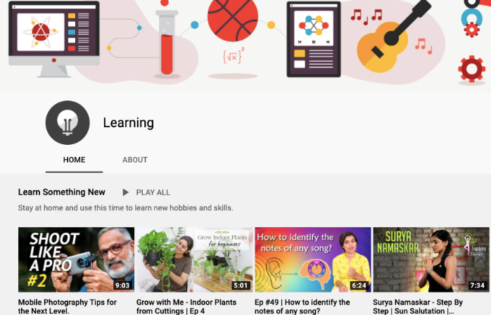 Google India introduces 'YouTube Learning Destination' to learn and teach from home