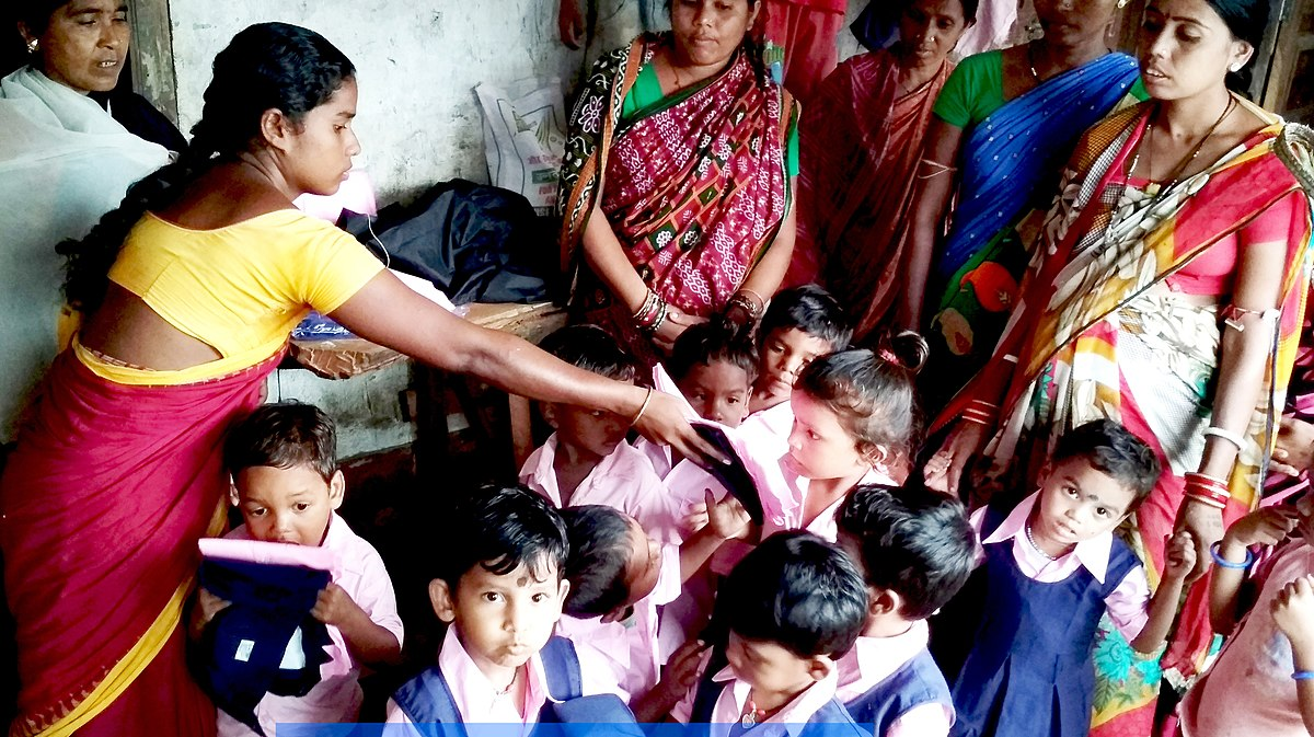 Zeal Foundation in collaboration with Delhi Government provides education & nutritional support to Anganwadi kids