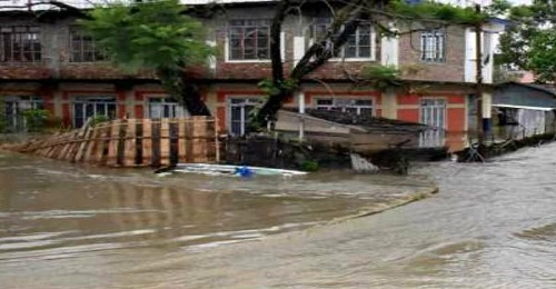 20-30 houses to be build by government for flood-hit people per constituency in Manipur