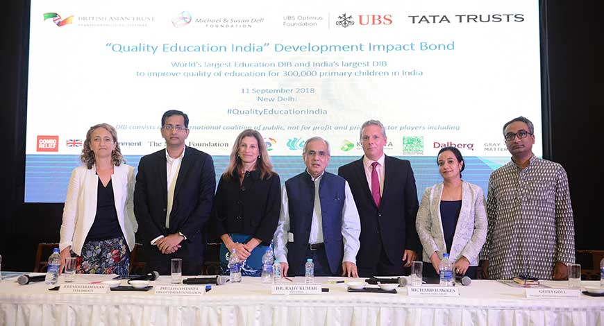 World's Largest Education Development Impact Bond Launched In India