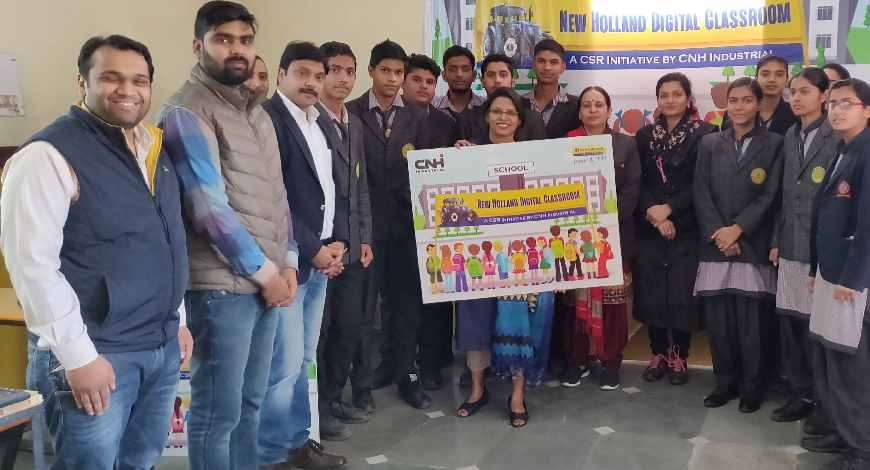CNH-Industrial-Launches-Interactive-Education-Program-Across-77-Schools-In-India