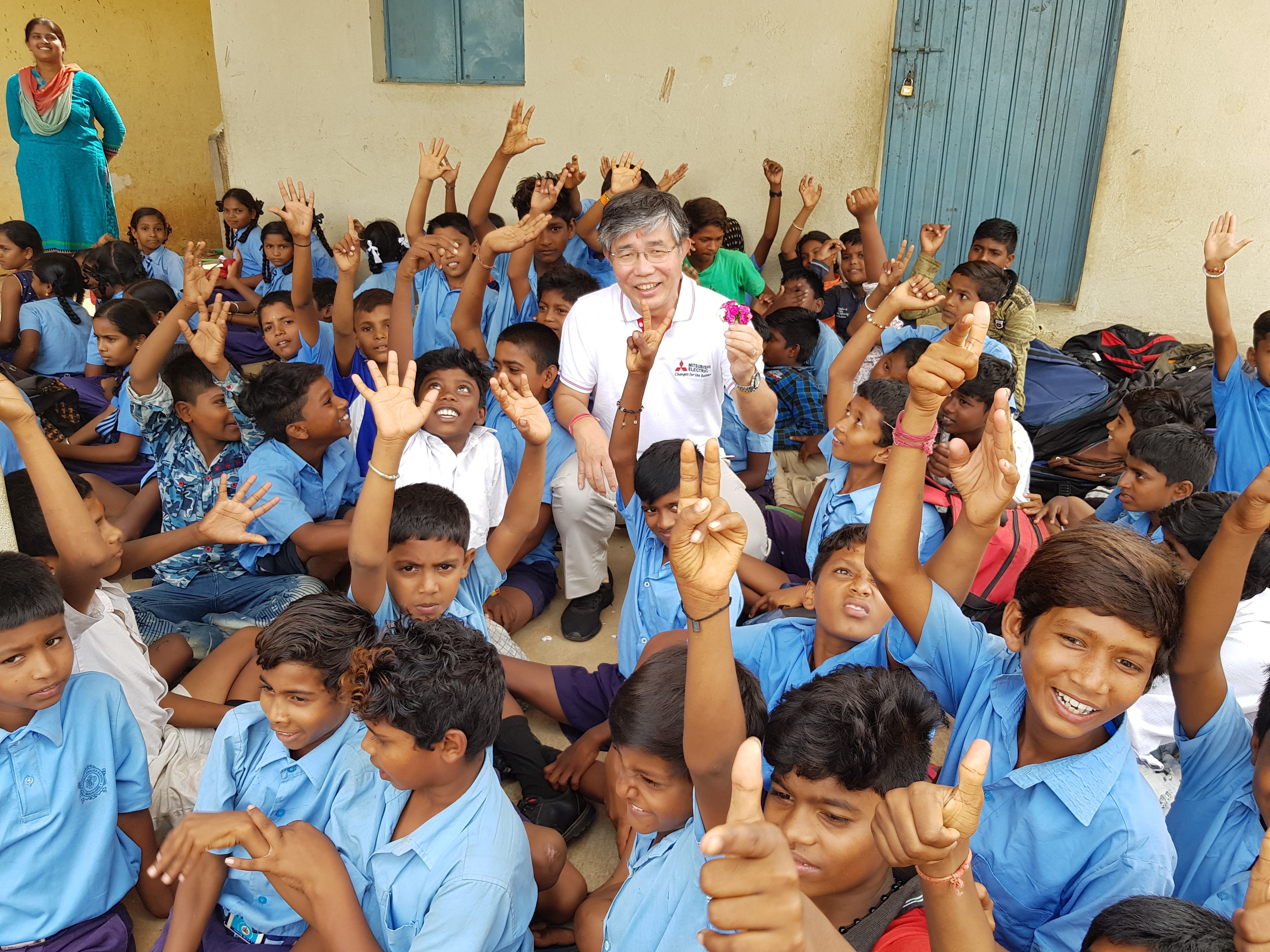 Mitsubishi-Electric-India-Facilitates-Clean-Drinking-Water-for-4-schools-in-Karnataka