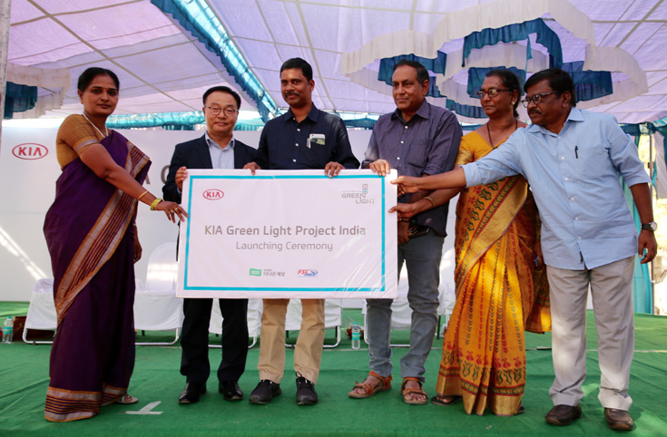 Kia Motors launches its global CSR program in India