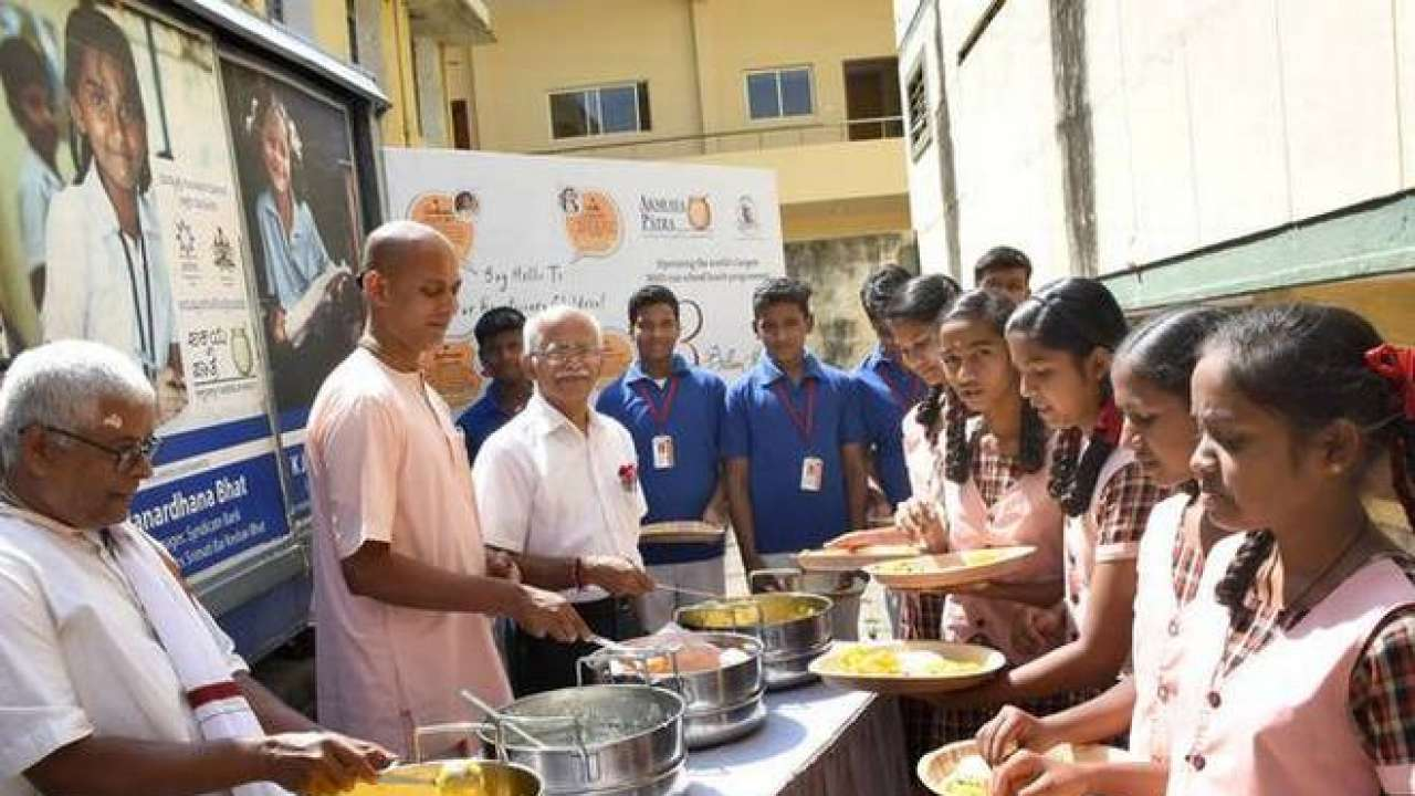 Akshaya Patra world's largest NGO targets to serve 5 billionth meal by 2021, to expand in Uttar Pradesh