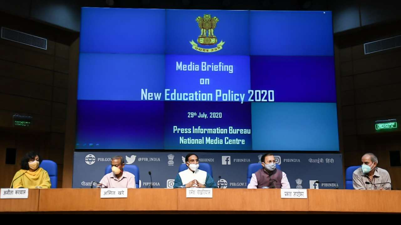 The new National Education Policy 2020 aims to bring transformational reforms in school and higher education