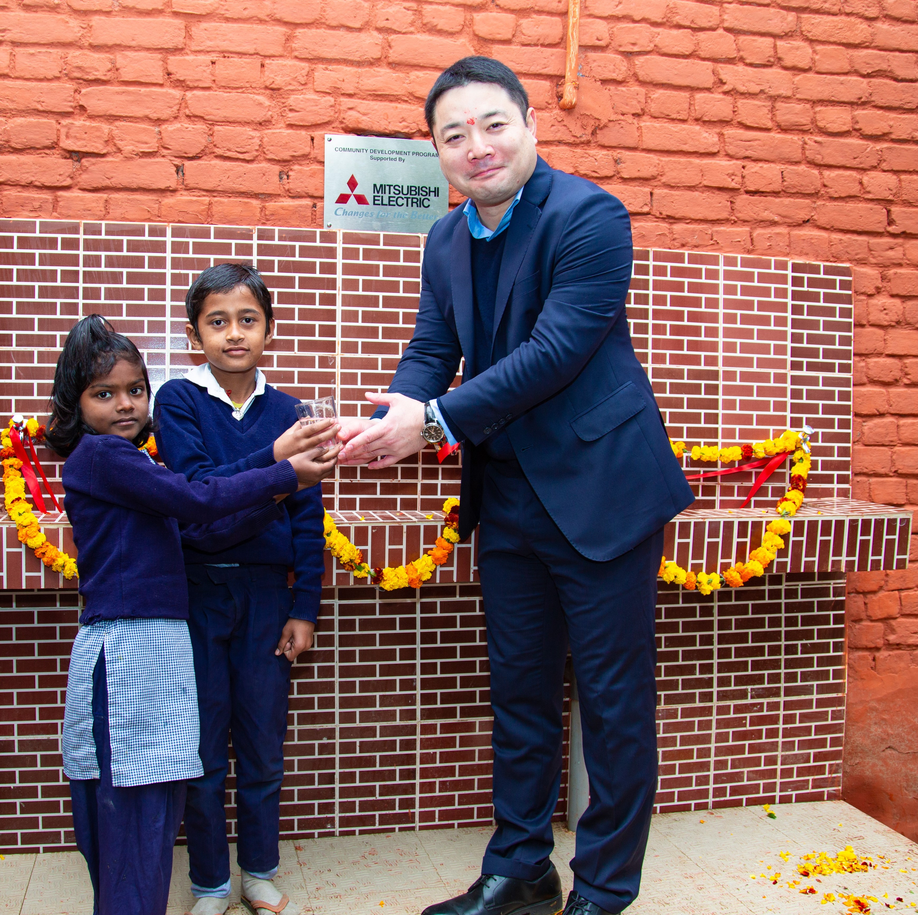 Mitsubishi Electric India extends Clean Drinking Water initiative in Faridabad