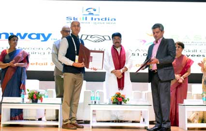 AMWAY India partners with the Ministry Of Skill Development & Entrepreneurship