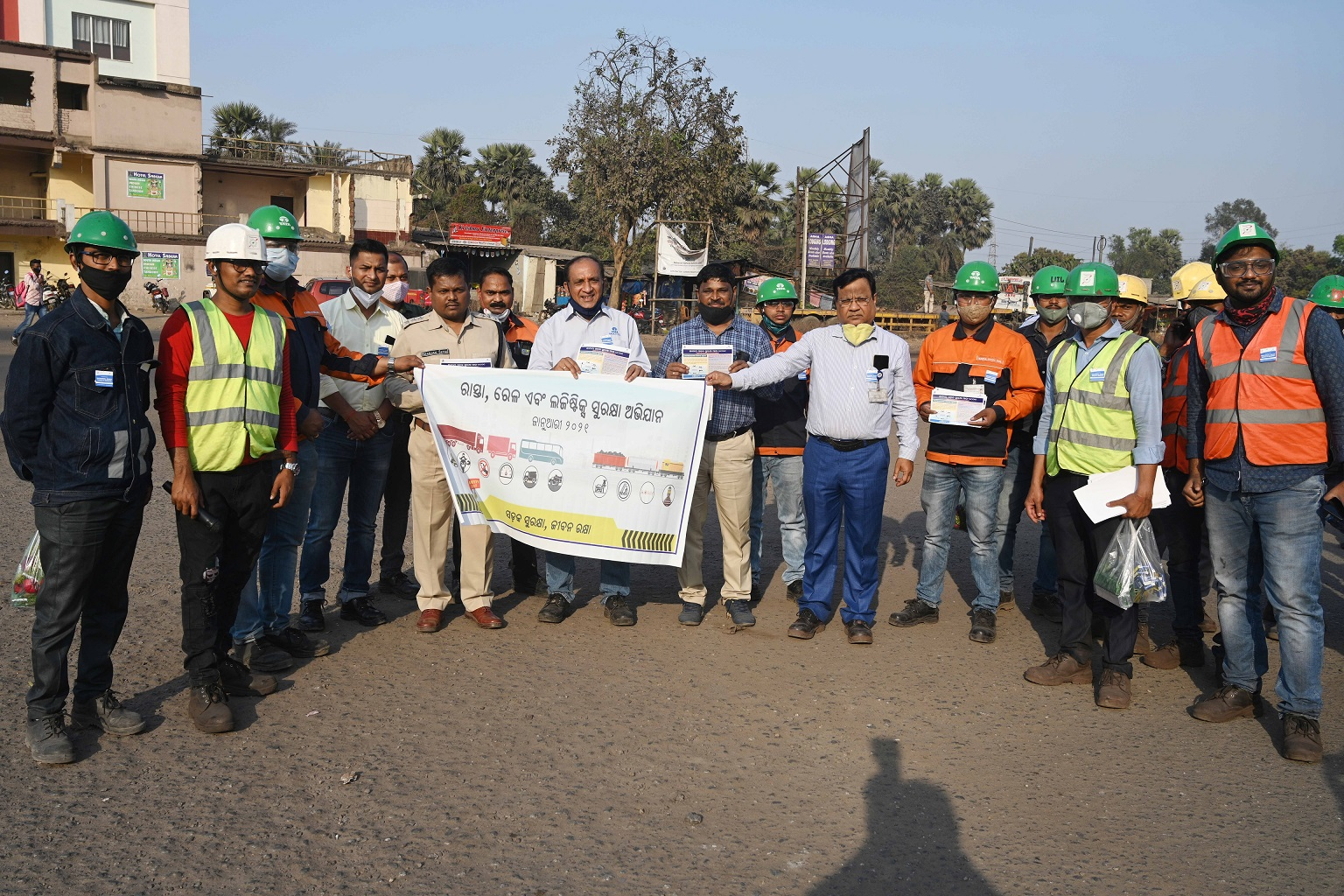 Tata Steel BSL observes month-long national road safety campaign