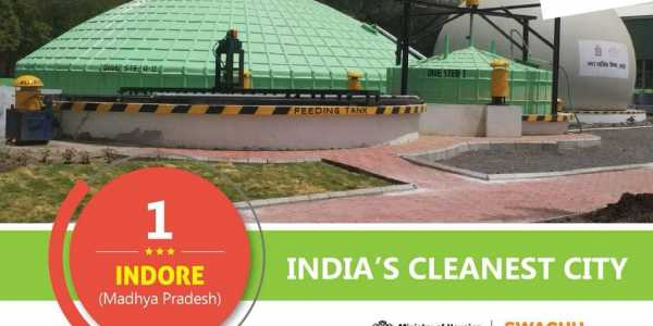 Indore, Bhopal, Chandigarh cleanest cities in India: Swachh Sarvekshan 2018