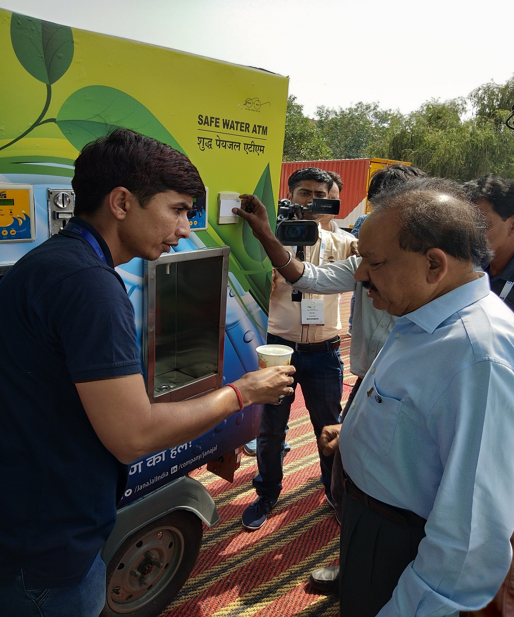 JanaJal install Water ATMs and Water on Wheels during World Environment Day India 2018