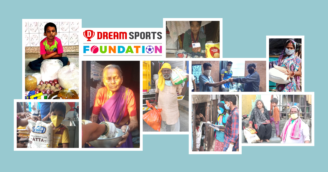 Dream Sports Foundation supports 6 Lakh+ Indians during the COVID-19 pandemic