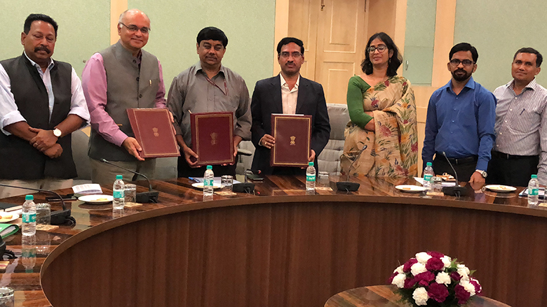 Signing of New Project Will Benefit Over 200,000 Poor and Marginalized Farmers in Andhra Pradesh