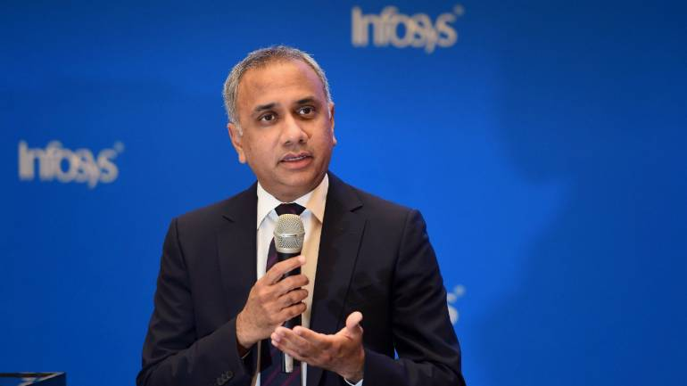 Infosys CEO explains why future digital workplaces will require people with humanities background