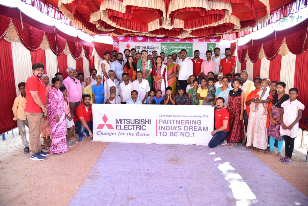 Mitsubishi Electric India Organizes Health Awareness Camps in Rural Areas of Karnataka