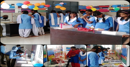 Inauguration of Mini Science Lab by AROH Foundation in Government School, Kureli