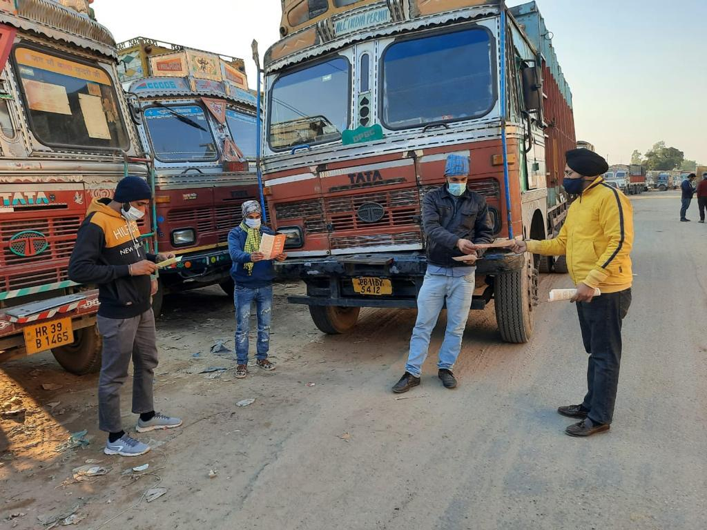 Pernod Ricard India Foundation and Ambuja Cement Foundation partner to ensure Quality Healthcare  and Road Safety for truck drivers: Derabassi, Punjab