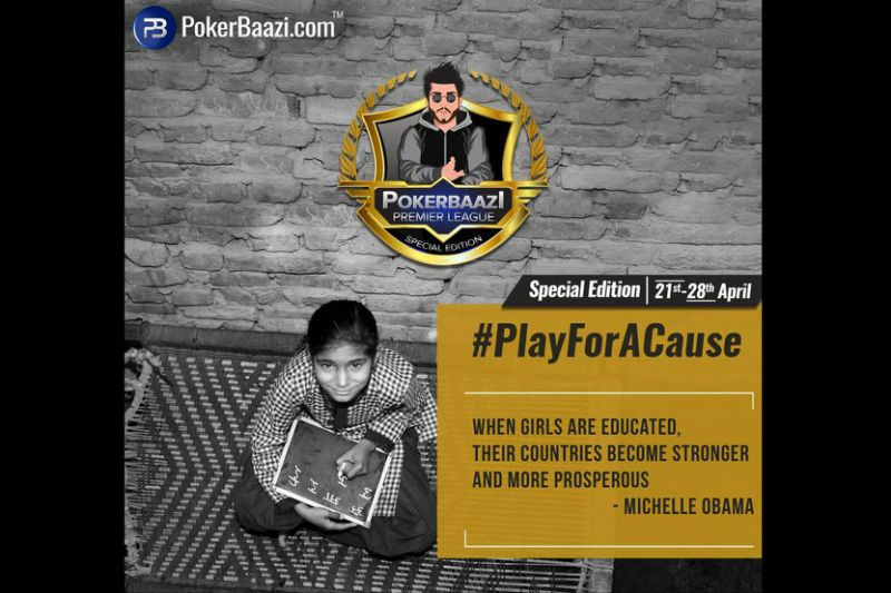 PokerBaazi Announces PPL Special Edition, sponsors 14 Underprivileged Girls with prize pool