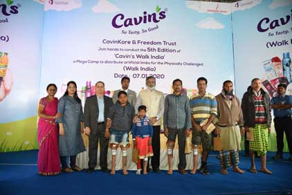 CavinKare-Donates-102-Customised-Artificial-Limbs-to-Amputees-in-Assam
