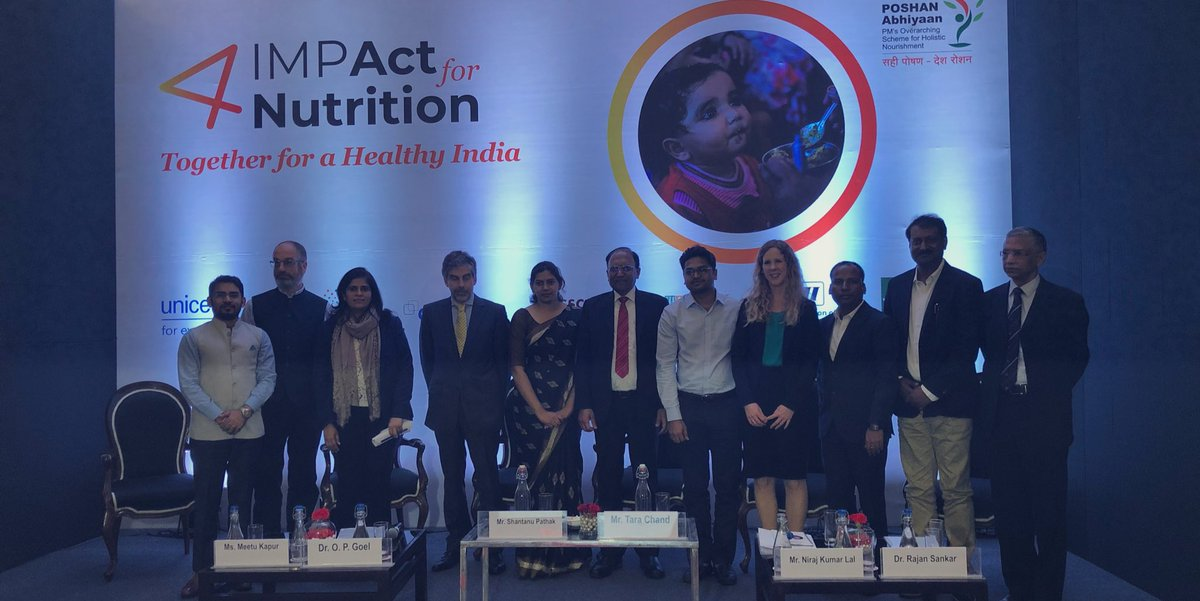 IMPAct4Nutrtion-convened-by-UNICEF,-Tata-Trusts,-Sight-and-Life,-CSRBOX,-CII,-WeCan-and-NASSCOM-Foundation-was-launched-today-in-New-Delhi