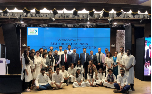 SBI Youth For India Valediction Event Of Batch 2018-19 October Cohort