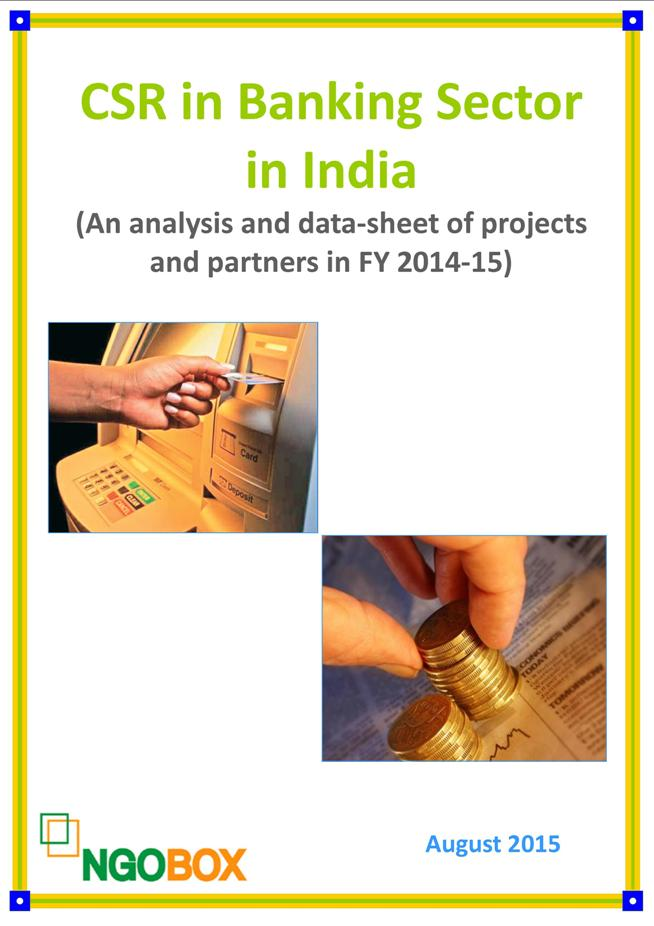 CSR in Banking Sector in India (FY 2014-15)