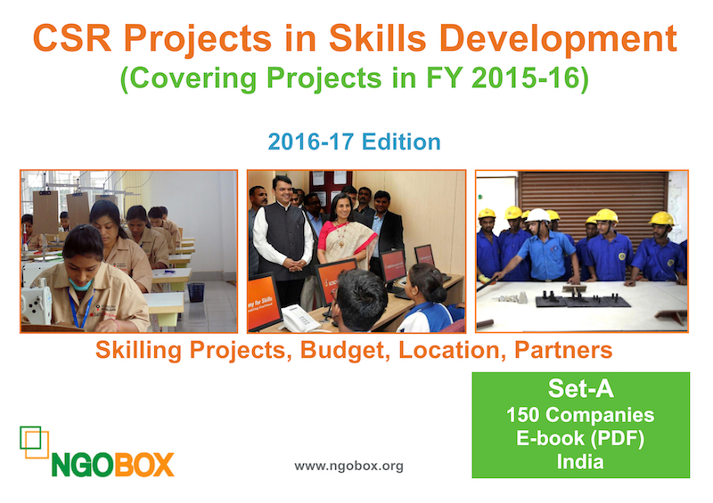 CSR Projects in Skills Development FY 2015-16