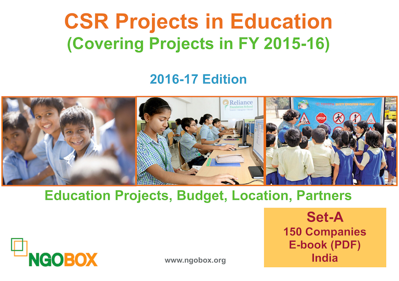 CSR Projects in Education FY 2015-16