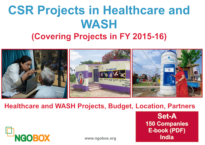 CSR Projects in Healthcare and WASH (Set-A)