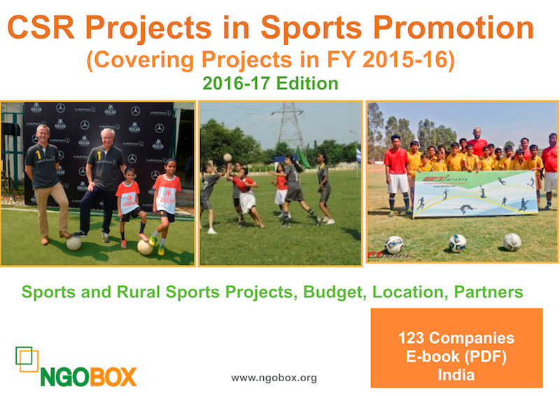 CSR Projects in Sports Promotion
