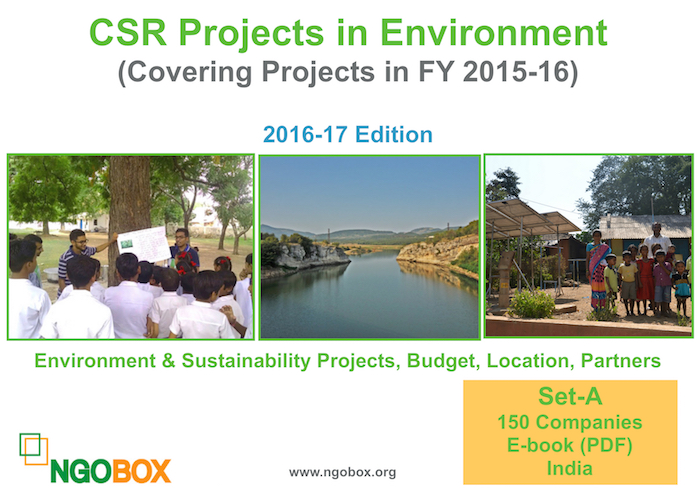 CSR Projects in Environment and Sustainability FY 2015-16 (Set A)