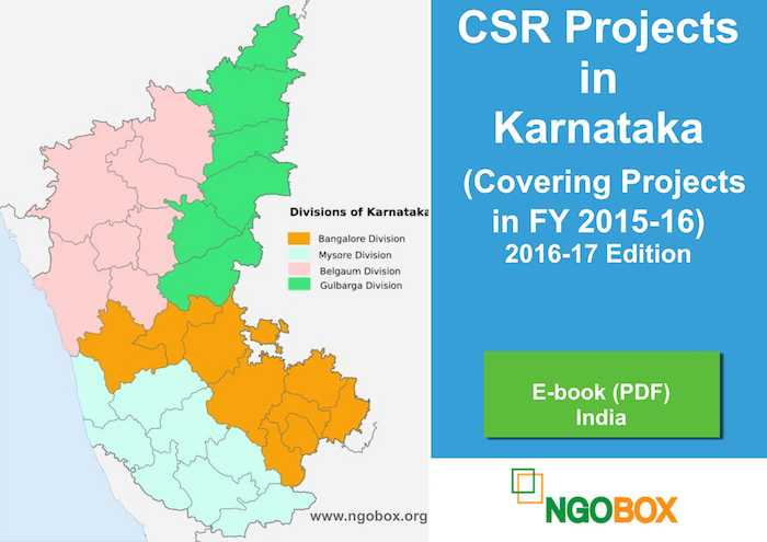 CSR Projects in Karnataka (2017 Edition)