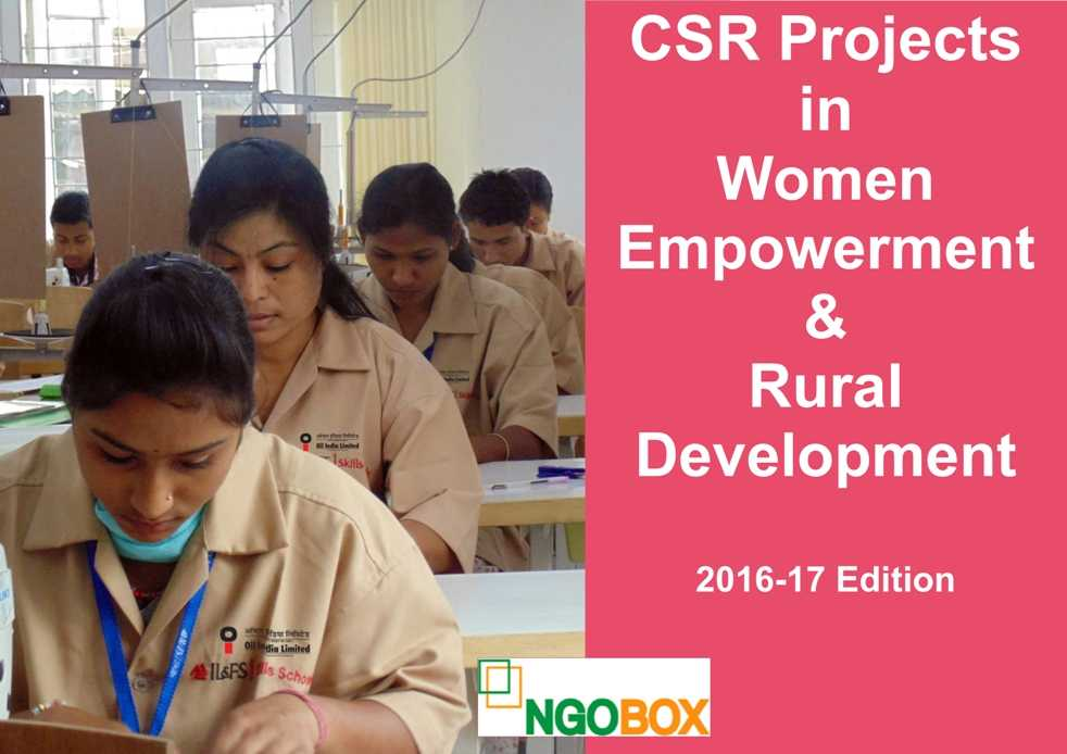 CSR Projects in Women Empowerment and Rural Development
