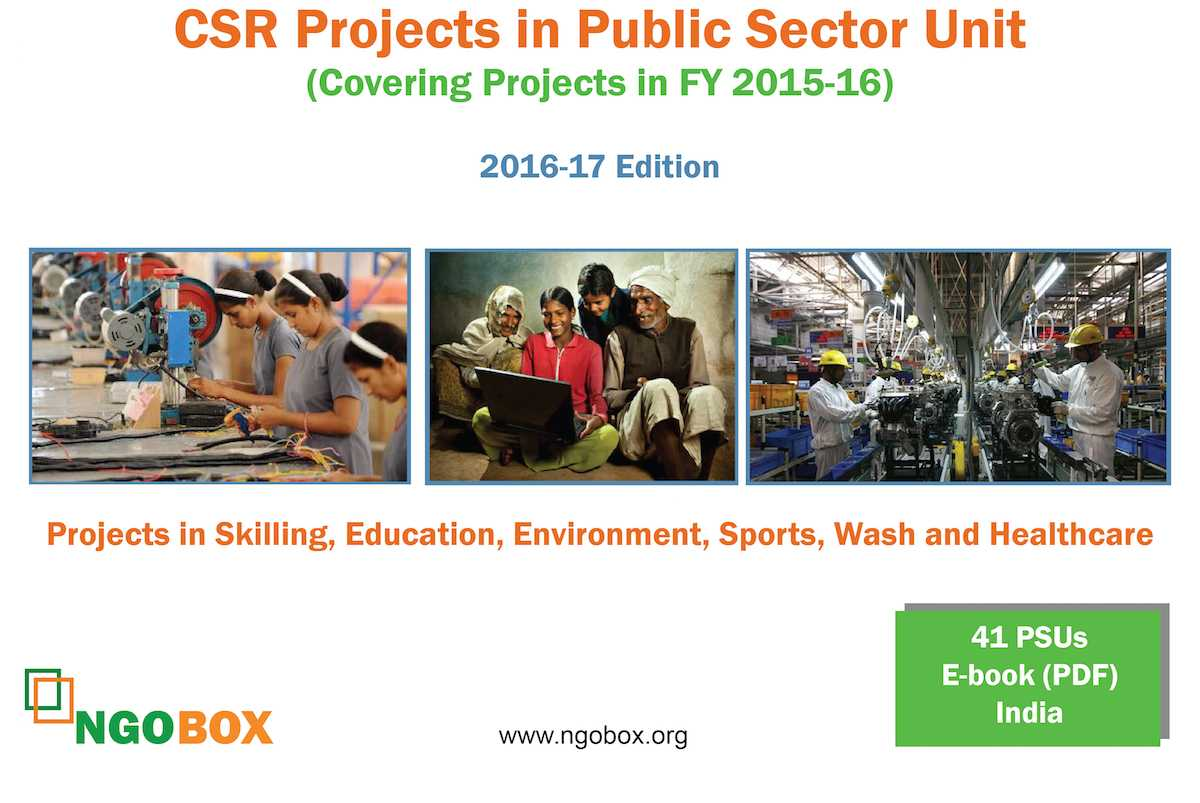 CSR Projects in Public Sector in India