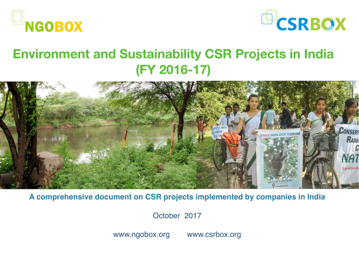 Environment CSR Projects in India (FY 2016-17)