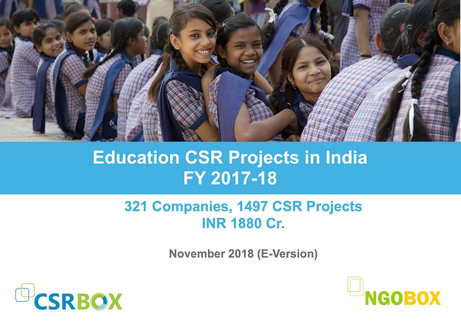CSR Projects in Education in India (FY2017-18)