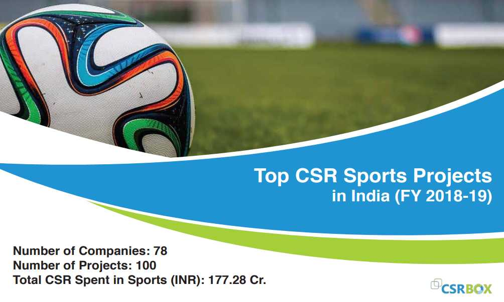 CSR Projects in Sports in India in FY 18-19 (New)