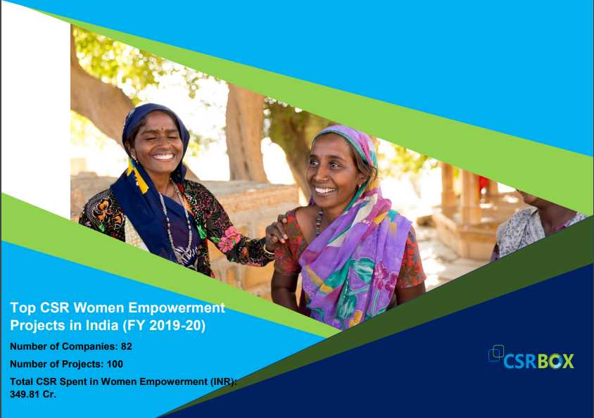 CSR Projects in Women Empowerment in India in FY 19-20 (New)