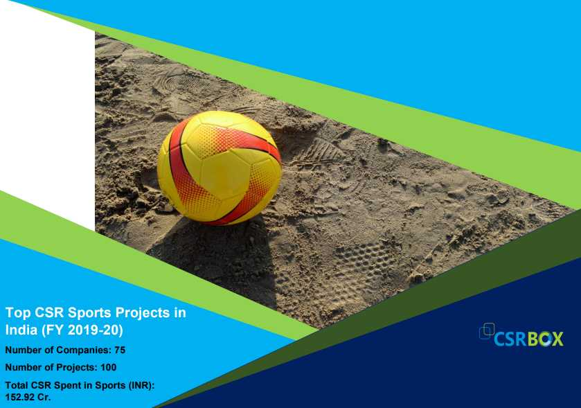 CSR Projects in Sports in India in FY 19-20 (New)