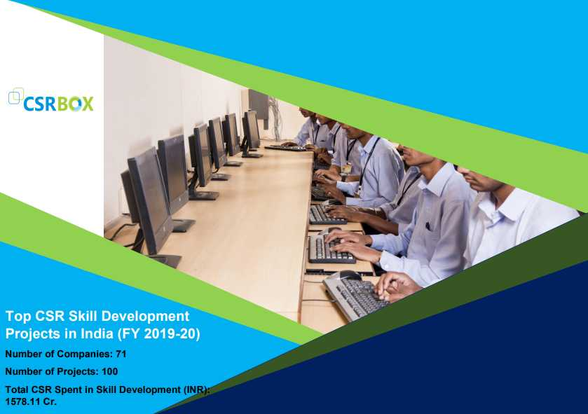 CSR Projects in Skill Development in India in FY 19-20 (New)