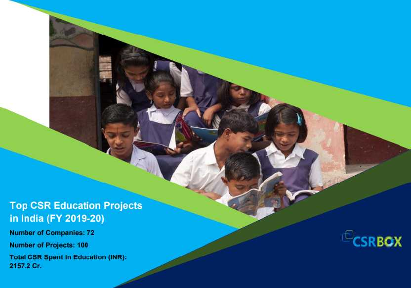 CSR Projects in Education in India in FY 19-20 (New)