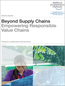 Beyond Supply Chains Empowering Responsible Value Chains