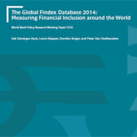 The Global Findex Database 2014 : measuring financial inclusion around the world