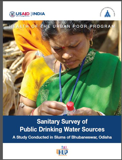 Sanitary Survey of Public Drinking Water Sources- A Study Conducted in Slums of Bhubaneswar, Orissa